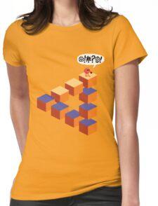 Q*bert's Conundrum Womens Fitted T-Shirt