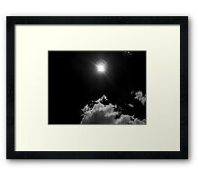 ©TSS The Sun Series LIII IA Monochrome Framed Print