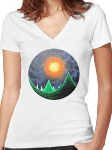 Ancient Overlord - 2010 Women's Fitted V-Neck T-Shirt