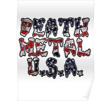 DEATH METAL U.S.A. Poster