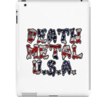 DEATH METAL U.S.A. iPad Case/Skin