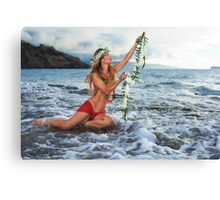 Spirit of Aloha - Gratitude (Mahalo Nui Loa) Canvas Print