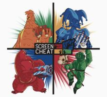 Screencheat Key Art Kids Clothes