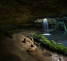 Lower Kalimna Falls by David  Hibberd