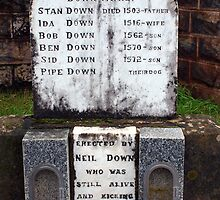 Comical Headstones (3) by Clive