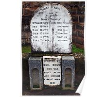 Comical Headstones (3) Poster