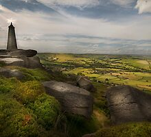 Wainman's Pinnacle - Yorkshire by eddiej