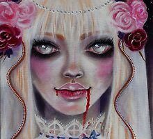 Mina the Vampire Bride by KimTurner