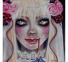 Mina the Vampire Bride Photographic Print
