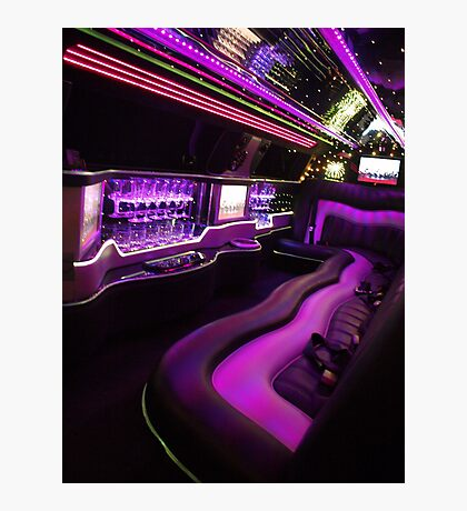 Limo Magic Photographic Print