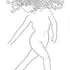Unfinished goddess by afthi