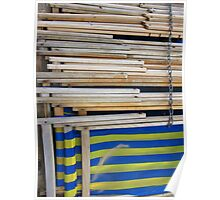 Deck Chairs - Bournmouth Poster