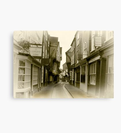 Shambles - York. Canvas Print