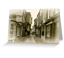 Shambles - York. Greeting Card