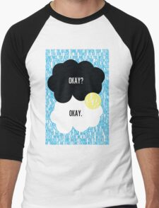 The Fault in Our Stars Typography Men's Baseball ¾ T-Shirt