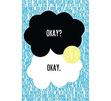 The Fault in Our Stars Typography Photographic Print