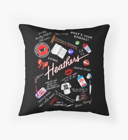 Heather's World Throw Pillow