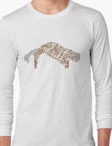 An Abundance of Katherines Typography  Long Sleeve T-Shirt