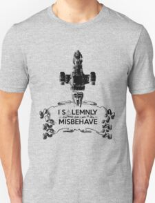 I Solemnly Swear That I Aim To Misbehave...Again Unisex T-Shirt