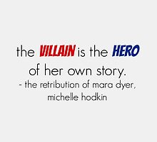 The villain is the hero - Mara Dyer Trilogy by TheLovelyBooks