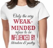 Tessa Quote Womens Fitted T-Shirt