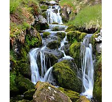 Glen Clova waterfall Photographic Print