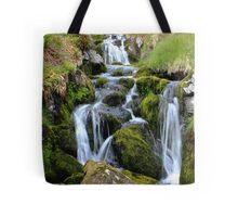 Glen Clova waterfall Tote Bag