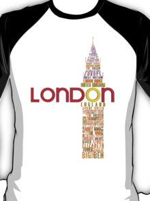 London Typography T-Shirt
