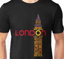 London Typography Unisex T-Shirt