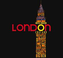 London Typography Unisex T-Shirt