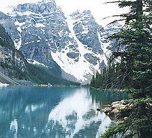 Moraine Lake, Banff National Park, Alberta, Canada by Adrian Paul