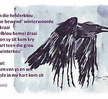 Winter-vreugde in my hart | Winter joy in my heart by Maree  Clarkson