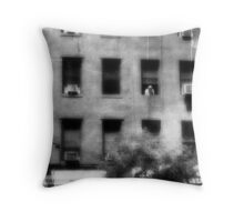 Just checkin' things out. Throw Pillow