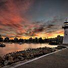 Sunset at Wollongong by Jason Pang, FAPS FADPA