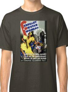 Havana Vintage Travel Poster Restored Classic T-Shirt