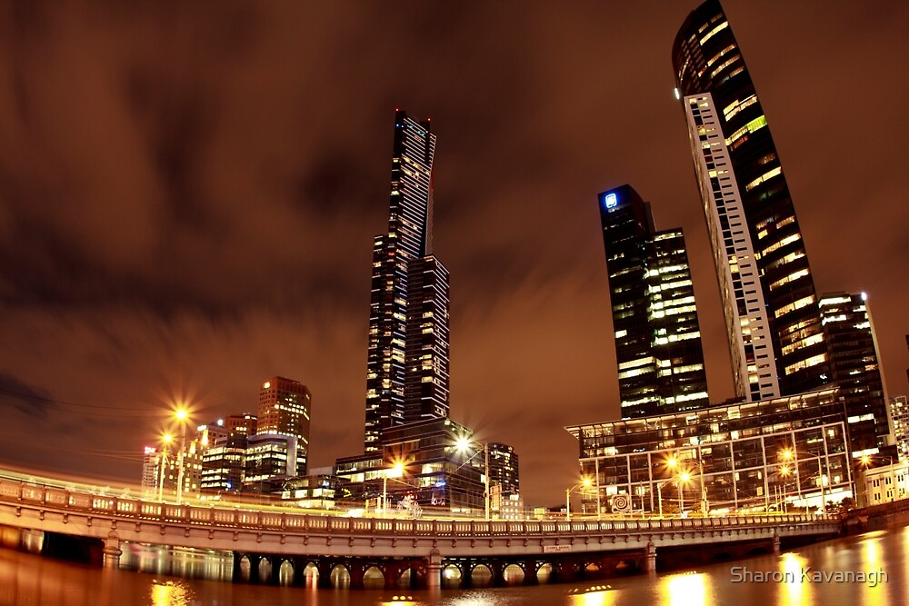 Spooky Looking City_Melbourne by Sharon Kavanagh