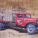 Miller High Life Delivery Truck by Carlos Solorza