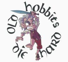 Old Hobbits Die Hard Light T-Shirt
