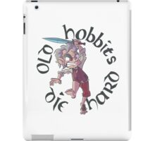 Old Hobbits Die Hard Light iPad Case/Skin