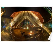 Sydney Opera House interior Poster