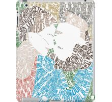The Fault in Our Stars Movie Poster Typography iPad Case/Skin