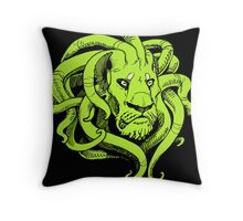 Octopus Lion Throw Pillow