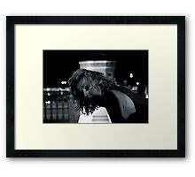 And my mind is already gone. And though there are other unknowns, somehow this doesn't concern me. Framed Print