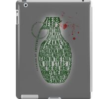 Grenade Typography iPad Case/Skin