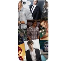 keegan allen - collage iPhone Case/Skin