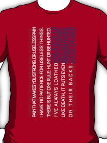 House of Cards Typography T-Shirt