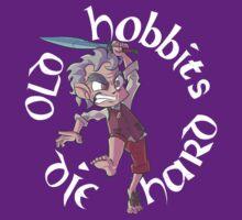 Old Hobbits Die Hard Dark T-Shirt