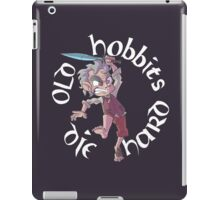 Old Hobbits Die Hard Dark iPad Case/Skin