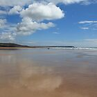 Freshwater Beach by Mark Baldwyn