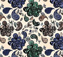Abstract seamless pattern by miroshina